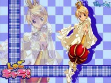 Présentation des personnages : Tadasé Hotori et son shugo chara