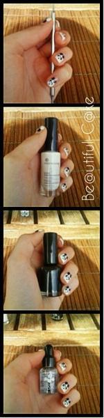 Nail Art : Tuto Panda