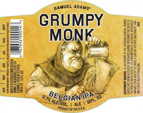 Review : Samuel Adams Grumpy Monk