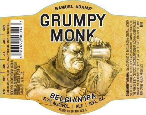 Review : Samuel Adams Grumpy Monk