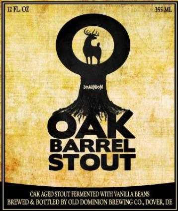Review : Dominion Oak Barrel Stout