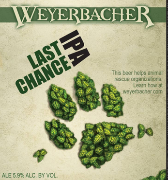 Review : Weyerbacher Last Chance IPA