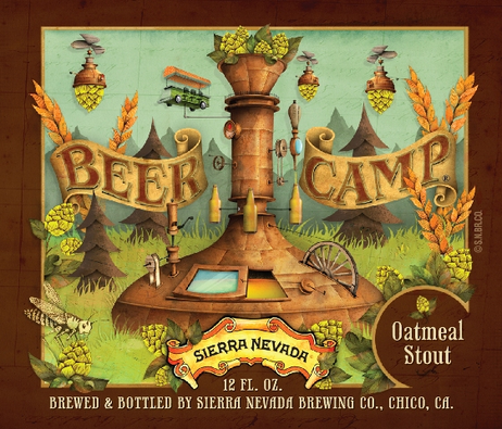 Review :Sierra Nevada Beer Camp Oatmeal Stout #45