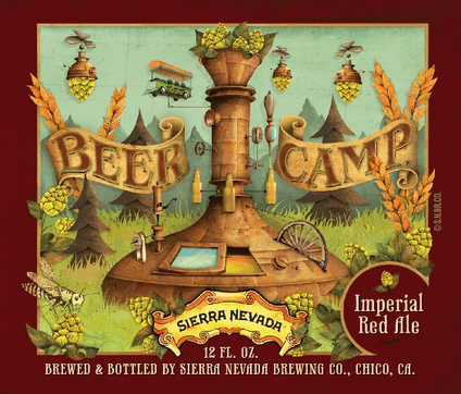 Review : Sierra Nevada Beer Camp Imperial Red Ale #65