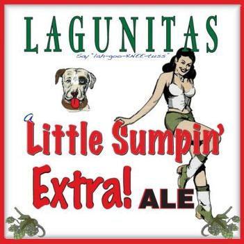 Review :Lagunitas A Little Sumpin' Extra! Ale