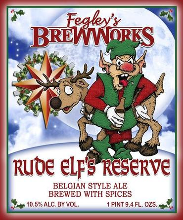 Review : Fegleys Brew Works Rude Elfs Reserve