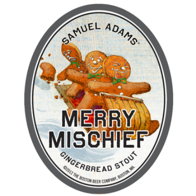 Review : Samuel Adams Merry Mischief Gingerbread Stout