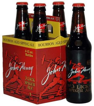 Review : John Henry 3 Lick Spiker Ale