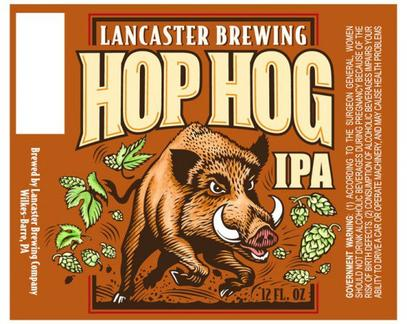 Review : Lancaster Hop Hog IPA