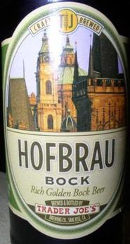 Review : Trader Joe's Hofbrau Bock
