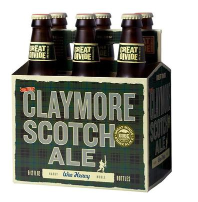 Review : Great Divide Claymore Scotch Ale