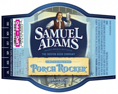 Review : Samuel Adams Porch Rocker