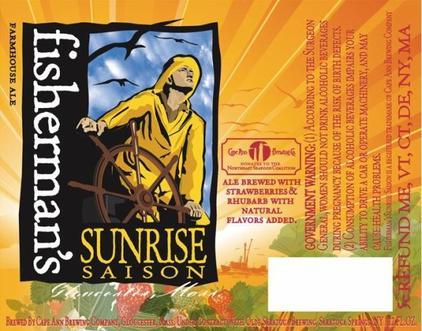 Review : Cape Ann Fisherman's Sunrise Saison