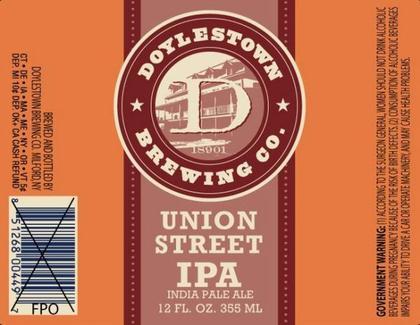 Review : Doylestown Union Street IPA