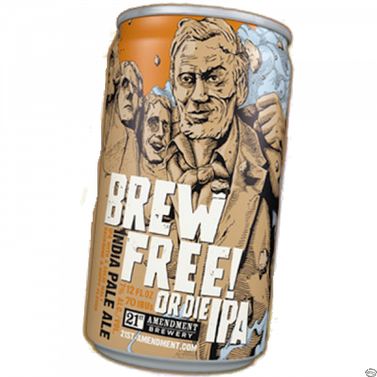 Review :  21st Amendment Brew Free or Die IPA