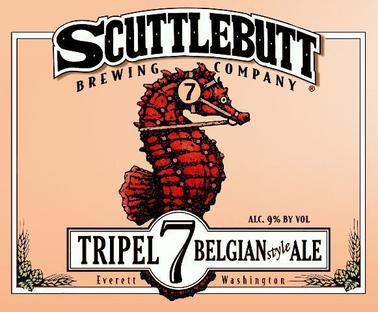 Review :  Scuttlebutt Triple 7 Belgian-style Ale