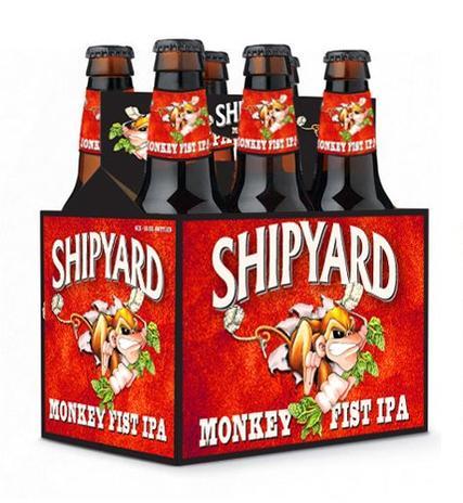 Review :  Shipyard Monkey Fist IPA