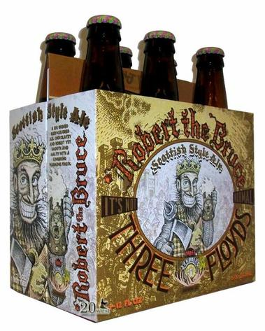 Review :  Three Floyds Robert The Bruce Scottish Ale