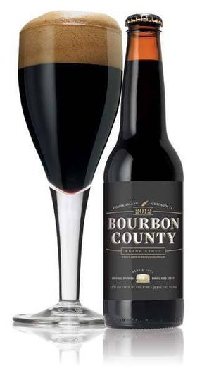 Review :  Goose Island Bourbon County Stout