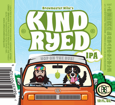 Review :  Otter Creek Kind Ryed IPA