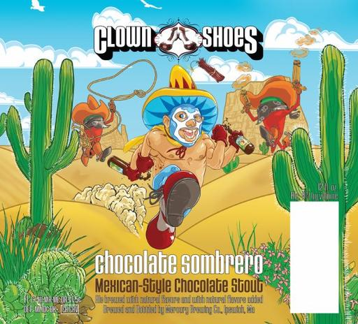 Review :  Clown Shoes Chocolate Sombrero