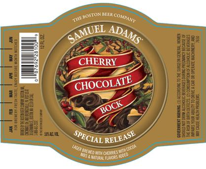 Review: Samuel Adams Cherry Chocolate Bock