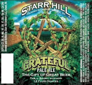 Review: Starr Hill Grateful Pale Ale