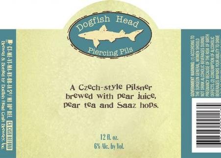 Review: Dogfish Head Piercing Pils