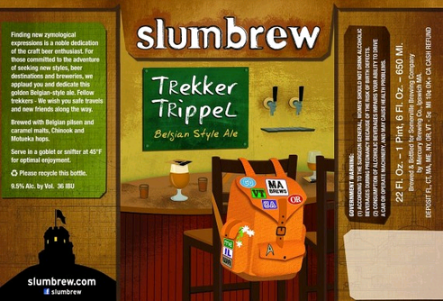 Review : Slumbrew Trekker Trippel