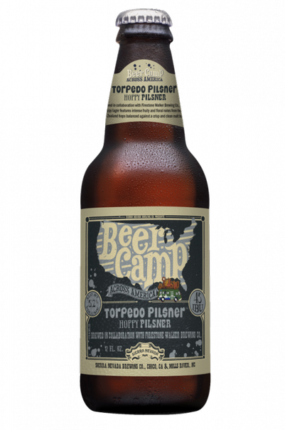 Review : Sierra Nevada - Firestone Walker Beer Camp Torpedo Pilsner