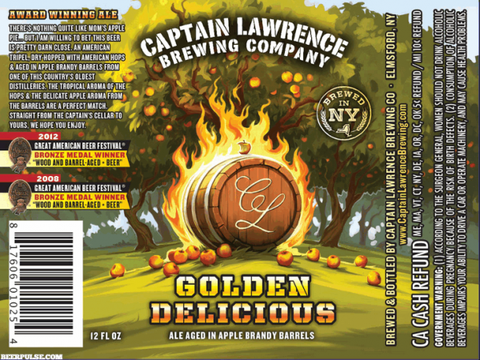 Review :  Captain Lawrence Golden Delicious