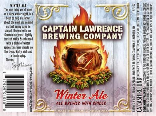 Review : Captain Lawrence Winter Ale