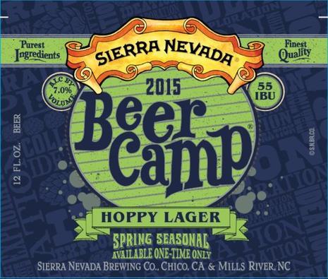 Review : Sierra Nevada Beer Camp Hoppy Lager