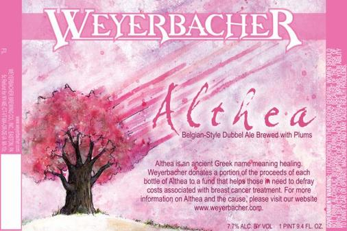 Review : Weyerbacher Althea