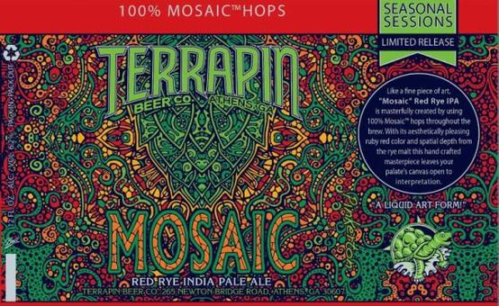 Review : Terrapin Mosaic Red Rye IPA