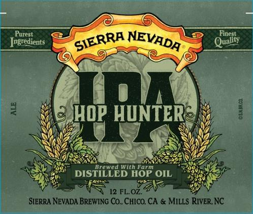 Review : Sierra Nevada Hop Hunter IPA