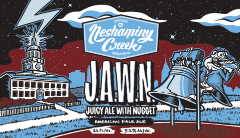 Review : Neshaminy Creek Juicy Ale With Nugget (JAWN)