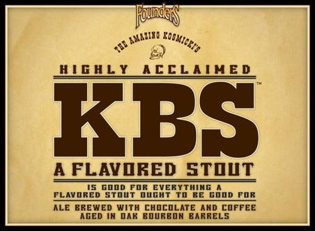 Review: Founders KBS (Kentucky Breakfast Stout)