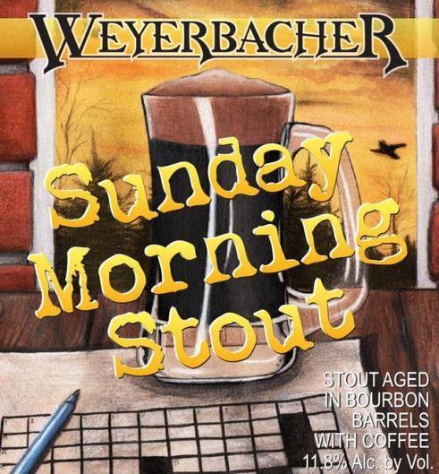 Review : Weyerbacher Sunday Morning Stout