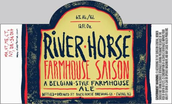 Review :  River Horse Farmhouse Saison