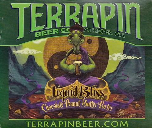Review :  Terrapin Liquid Bliss Chocolate Peanut Butter Porter