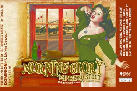 Review :  Dominion Morning Glory Espresso Stout