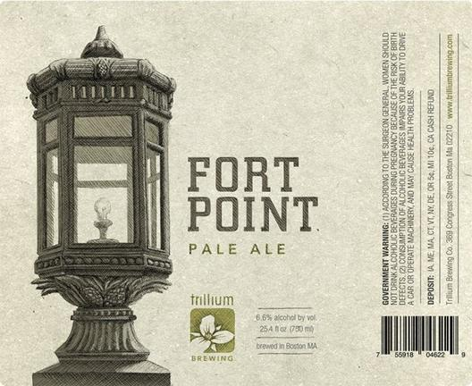 Review : Trillium Fort Point Pale Ale