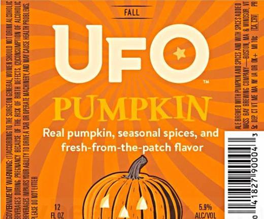 Review : Harpoon UFO Pumpkin