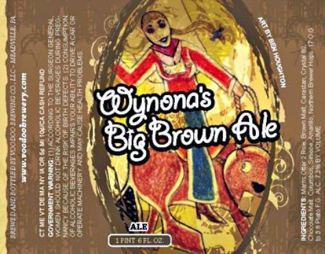 Review :  Voodoo Wynona's Big Brown Ale