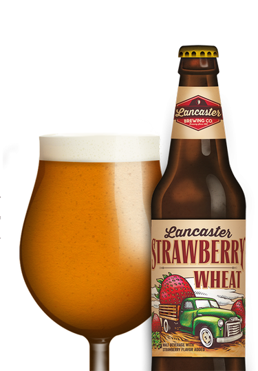 Review : Lancaster Strawberry Wheat