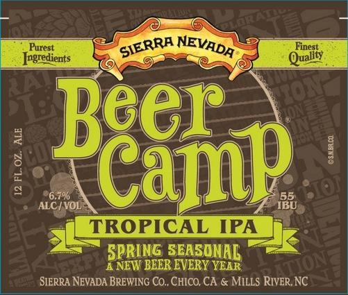 Review : Sierra Nevada Beer Camp Tropical IPA