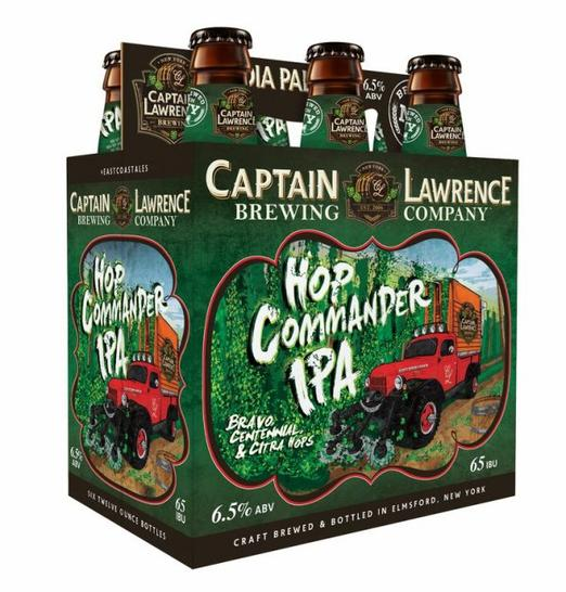 Review : Captain Lawrence Hop Commander