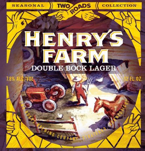 Review : Two Roads Henry's Farm Double Bock