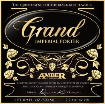 Review : Amber Grand Imperial Porter